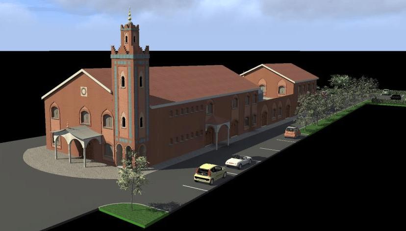 Mosquée de Dechy projet