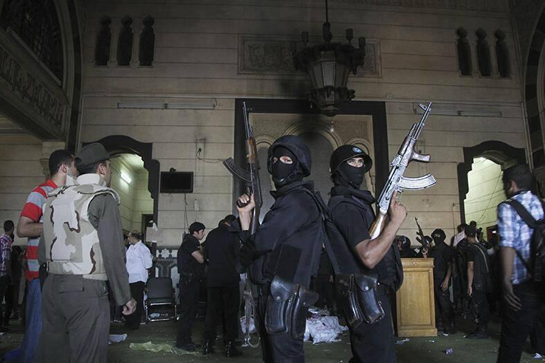 Mosquée El Fath du Caire