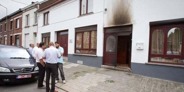 Mosquée ciblée belgique