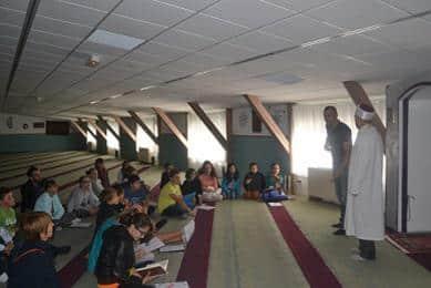 Visite mosquée Pontarlier