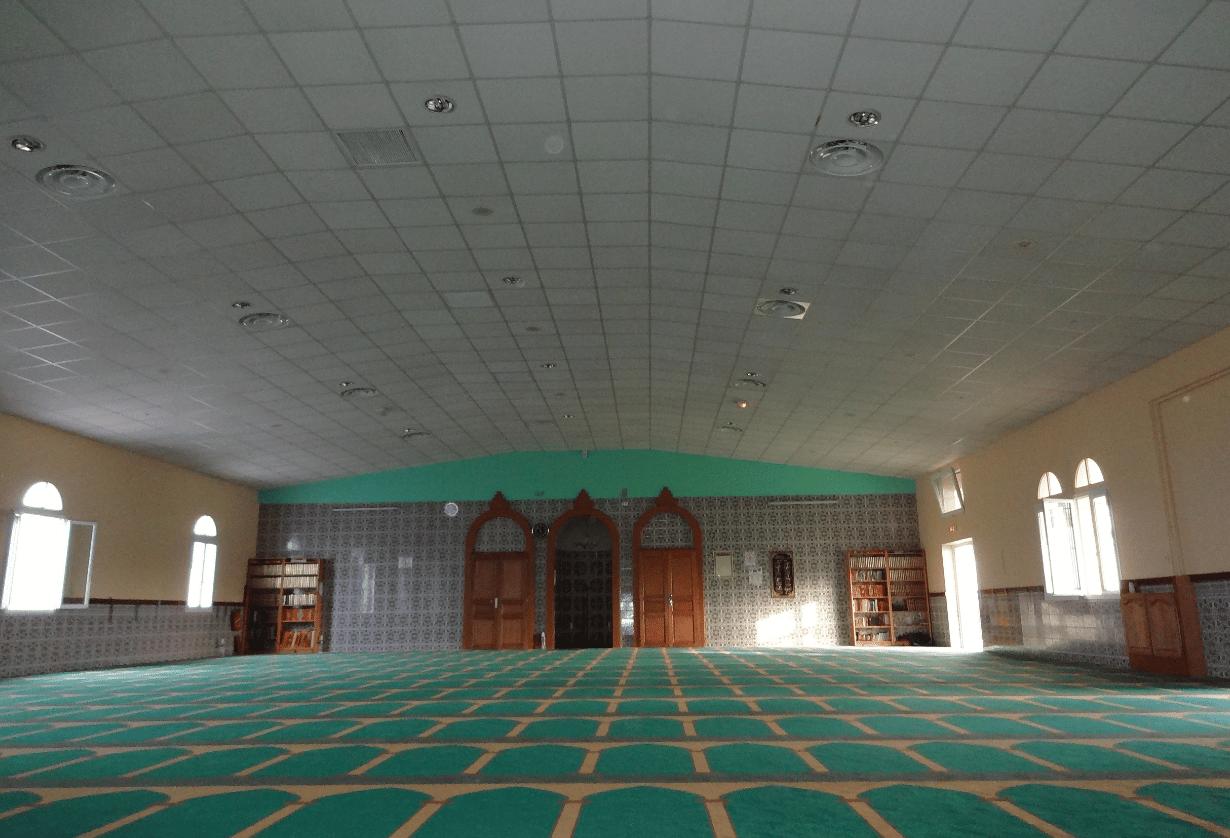 Intérieur mosquée Chenôve