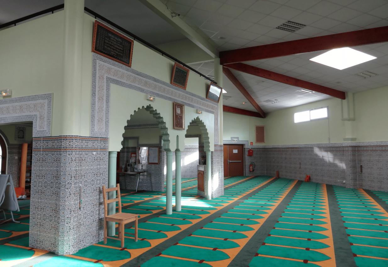 Intérieur mosquée de Quétigny