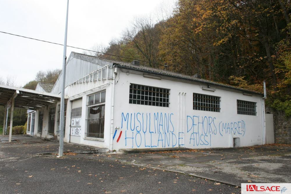 Tags islamophobes Haut-Rhin