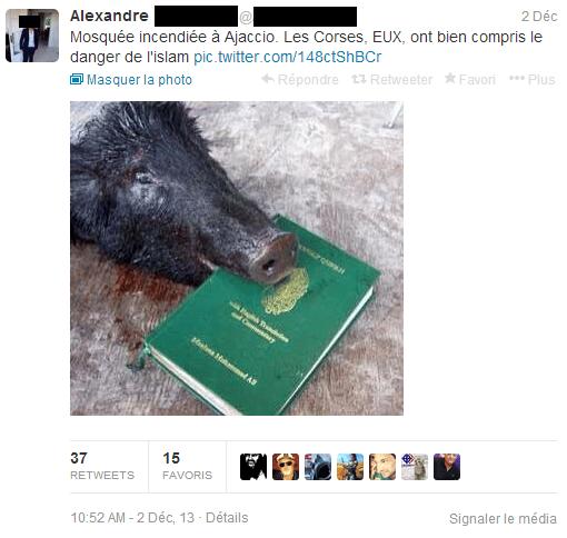 Islamophobie sur Twitter