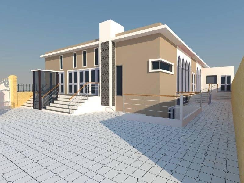 Les plans de la future mosquée de Noisy-le-Grand