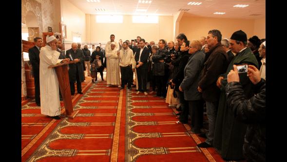 Inauguration de la nouvelle mosquée de Harnes