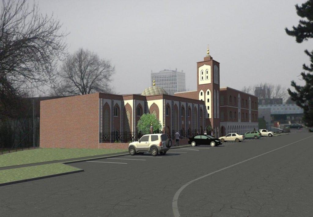 La mosquée Annour d'Arras