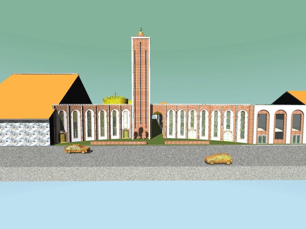 La mosquée Arrahma de Roubaix