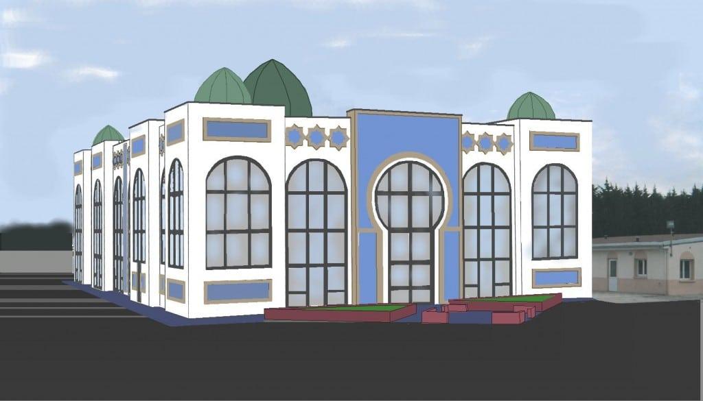 a h nin beaumont 62 le maire fn donne son feu vert pour la construction de la mosqu e ennasr. Black Bedroom Furniture Sets. Home Design Ideas