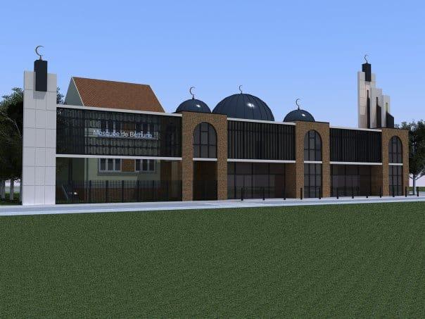 La mosquée de Béthune