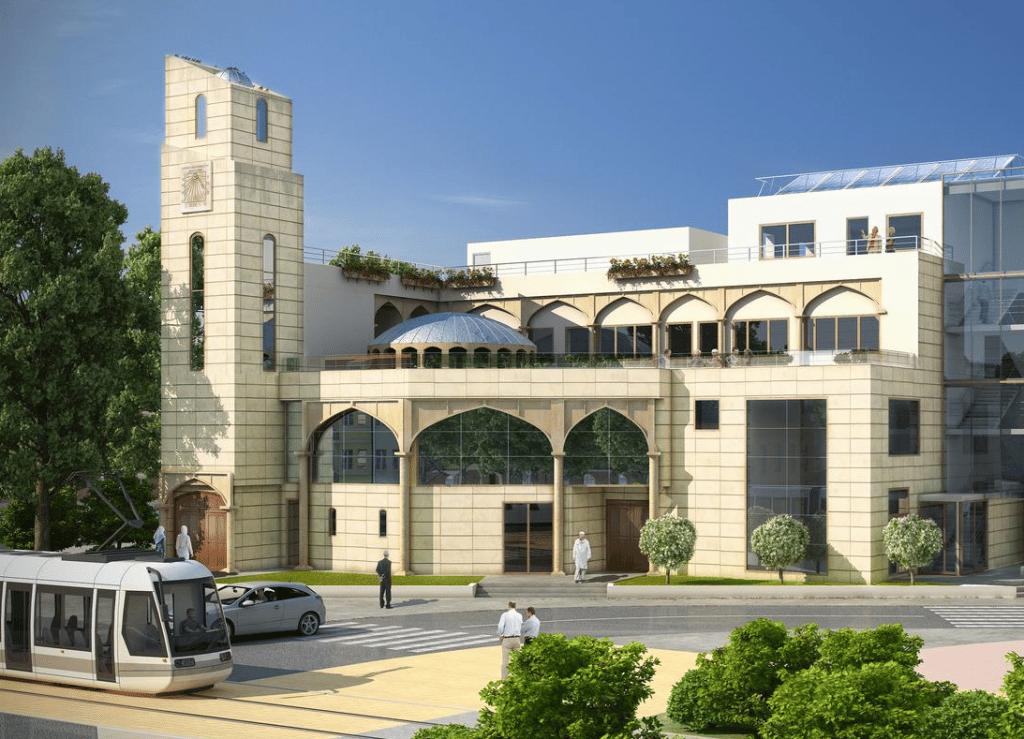 La mosquée de Clamart