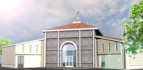 La mosquée de Lieusaint