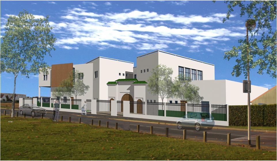 La mosquée de Moissy-Cramayel