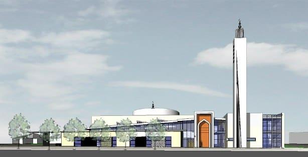 La mosquée de Vaulx-en-Velin