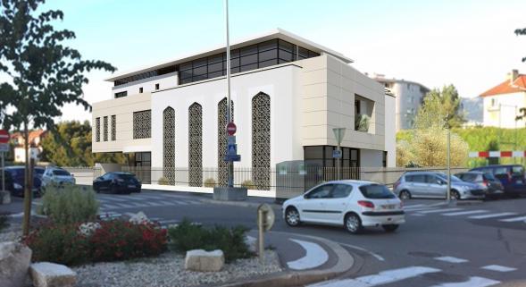Projet de mosquée d'Annecy
