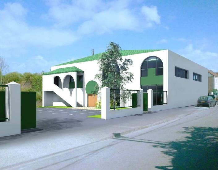 Projet de mosquée de Guyancourt