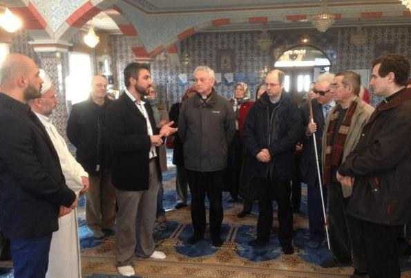 Visite de la mosquée de Mer - Conseil pastoral