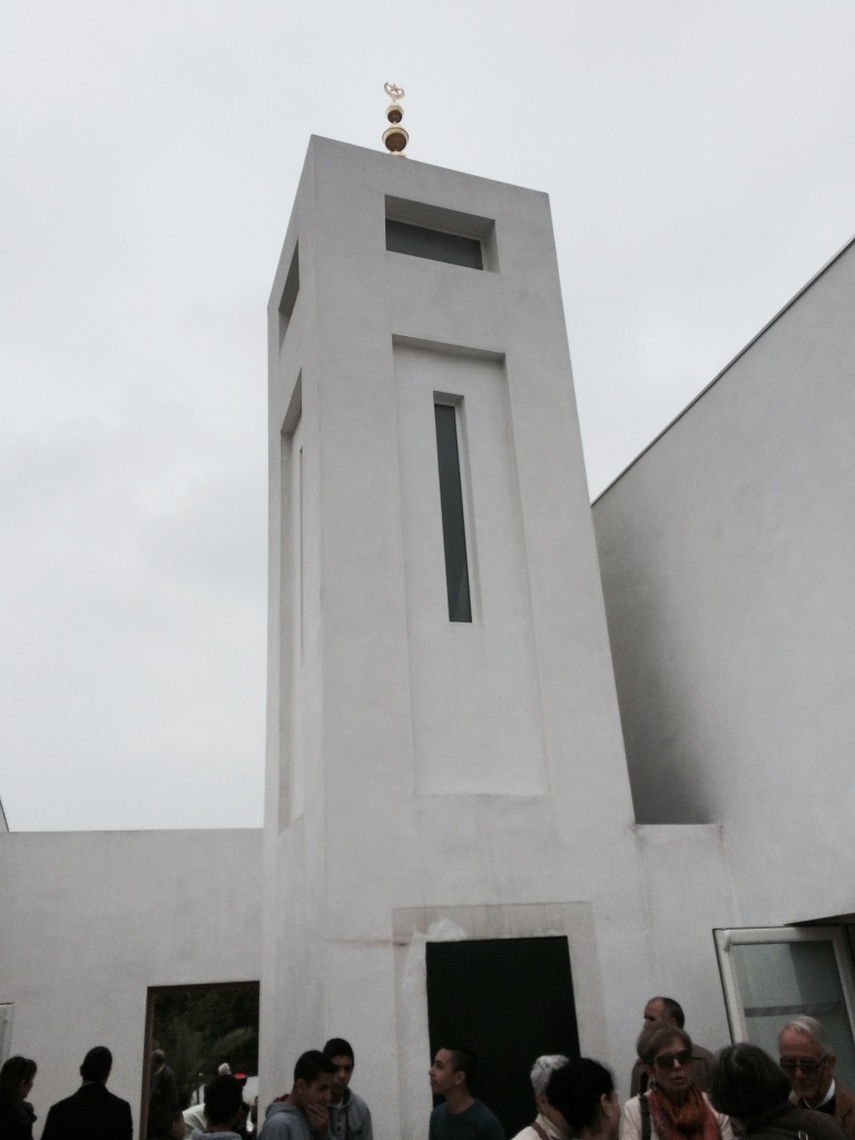Minaret de la mosquée de Bayonne