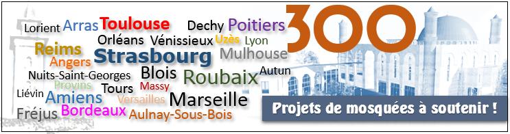 Projets de mosquées
