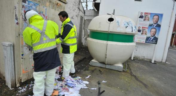 Tag obscène sur la mosquée de la Hotoie à Amiens