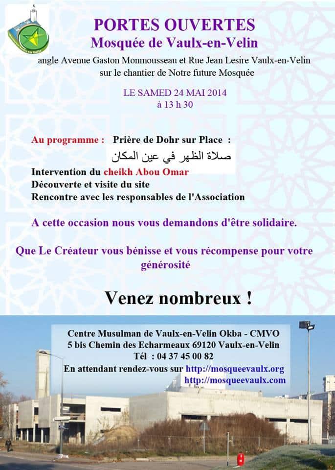 Portes Ouvertes à la mosquée de Vaulx-en-Velin