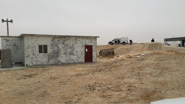 Une mosquée du Negev détruite par les autorités sionistes