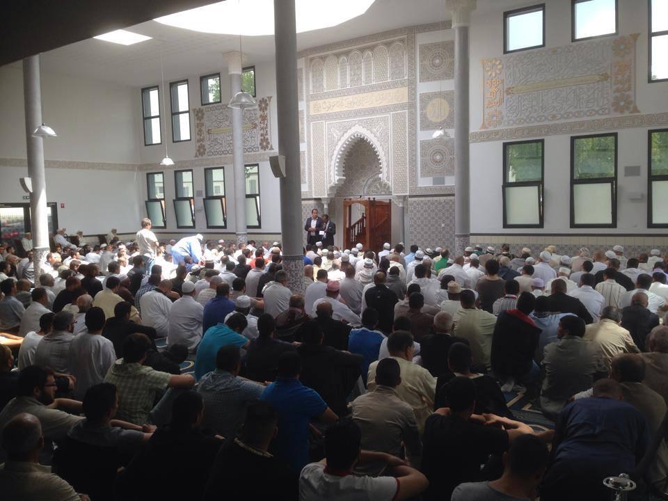 Inauguration de la mosquée d'Orléans La Source