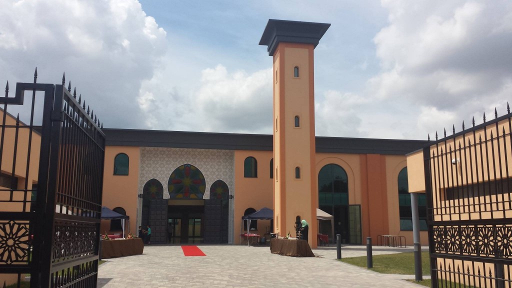 ouverture de la grande mosquée de Reims