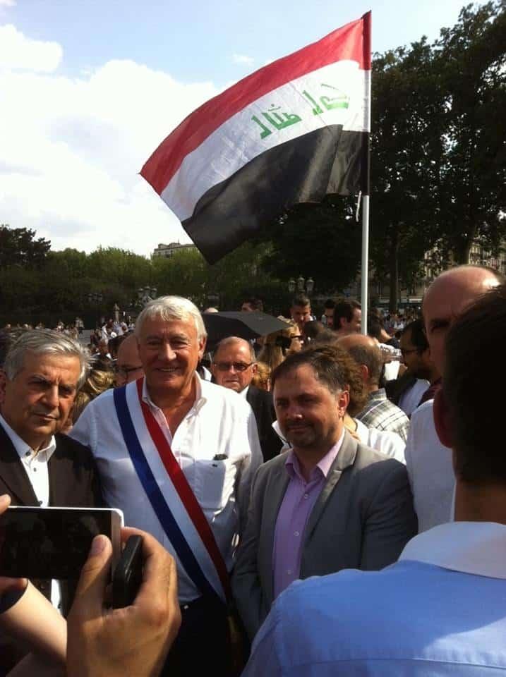 Claude Goasguen soutient les chrétiens d'Irak