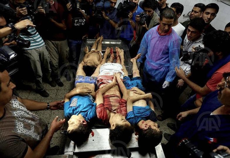 Enfants assassinés par l'entité sioniste terroriste