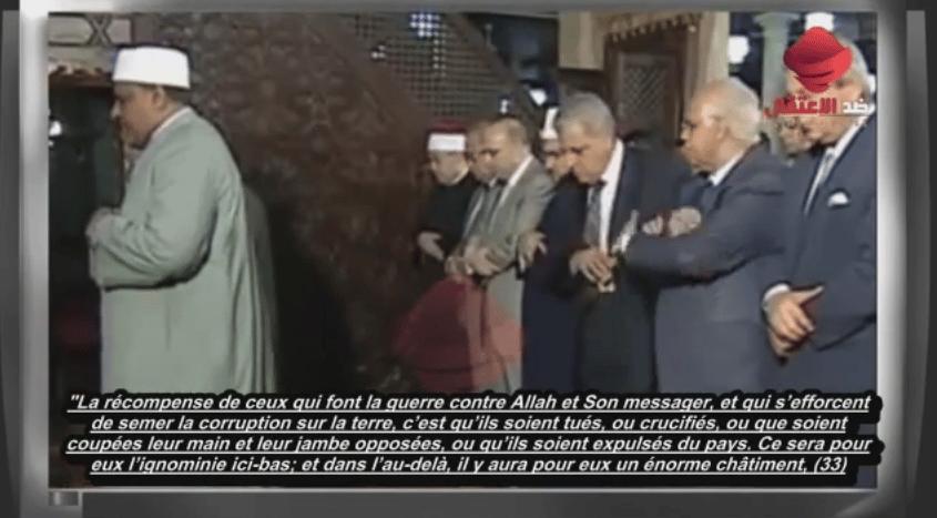 Le verset qui a fait chanceler le premier ministre égyptien