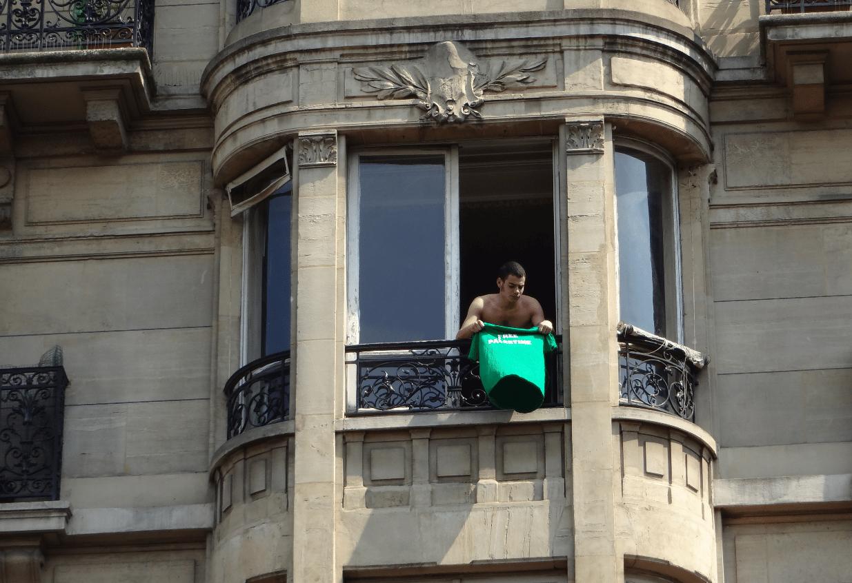 Manifestation interdite à Paris 19 juillet 2014 4