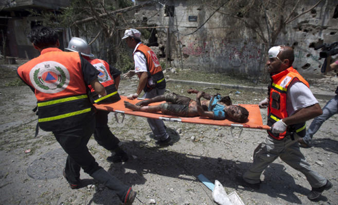 Massacre de Chajaya Gaza4