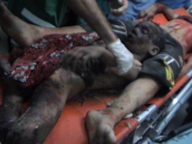 Trois adolescents palestiniens tués par Israël 2