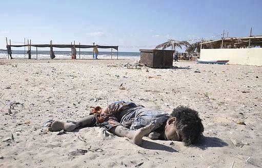 quatre enfants de Gaza victimes de l'entité sioniste 4