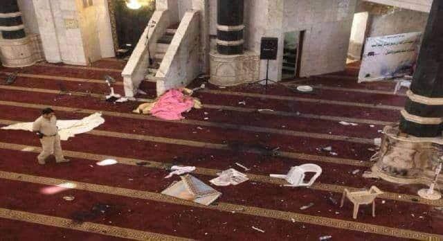 Massacre dans une mosquée sunnite en Irak 1