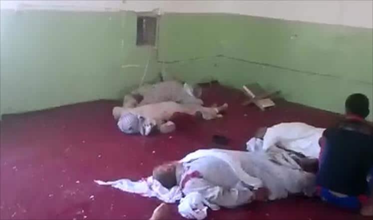 Massacre dans une mosquée sunnite en Irak 2