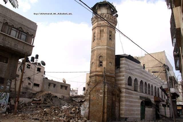 Mosquée Almahkama de Shujaya Gaza