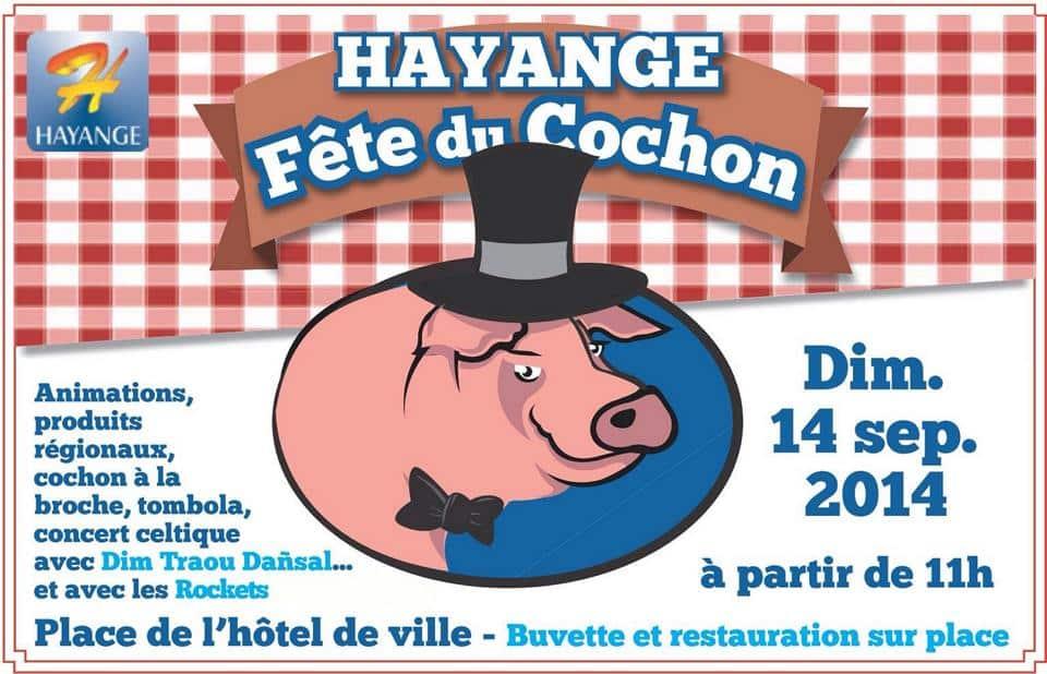 Fête du cochon à Hayange