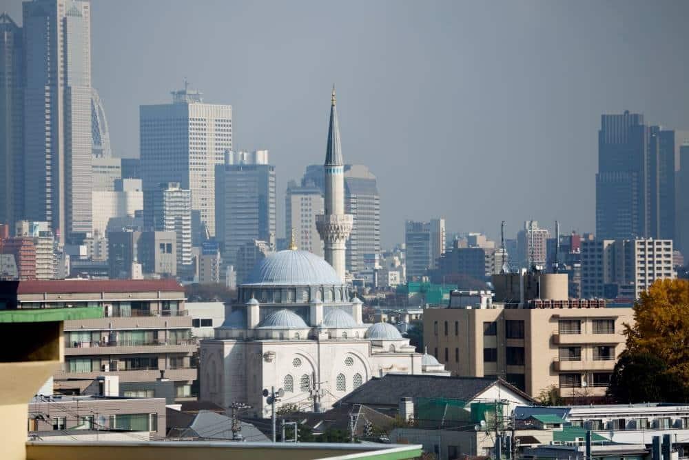 Adhan à la mosquée centrale de Tokyo