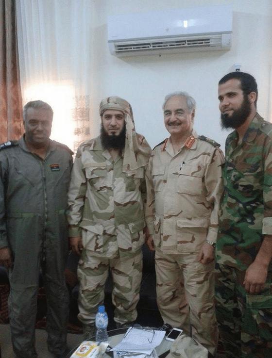 Haftar soutenu par les madkhalistes