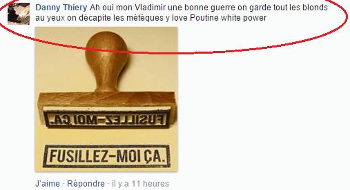 Haine Page Facebook anti mosquée Strasbourg 2