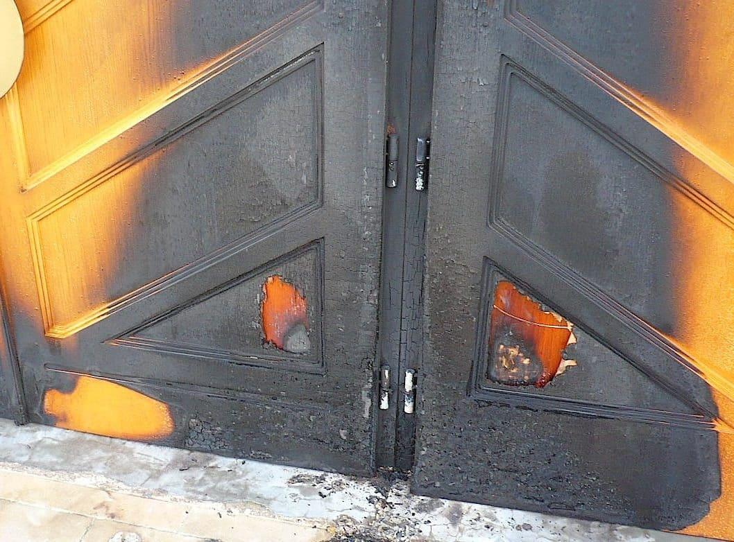 La mosquée de Strasbourg visé par un incendie
