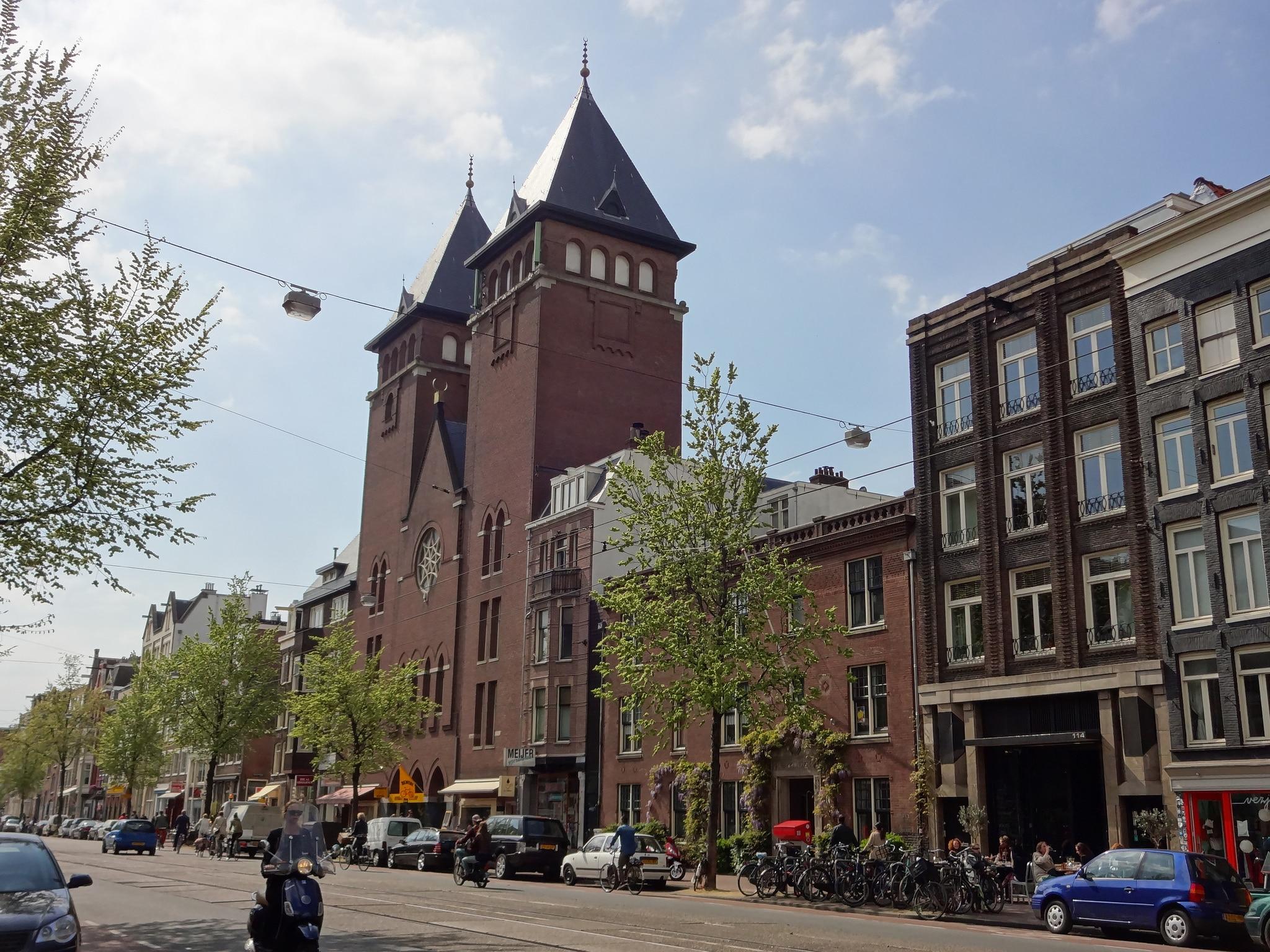 Mosquée Al Fatih d'Amsterdam