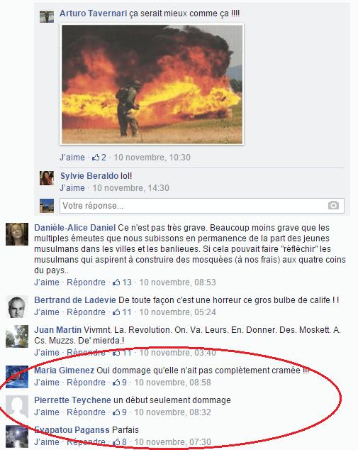 Page Facebook anti mosquée Strasbourg 12