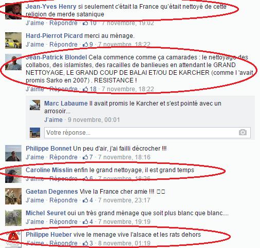 Page Facebook anti mosquée Strasbourg 18