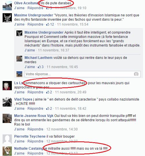 Page Facebook anti mosquée Strasbourg 5