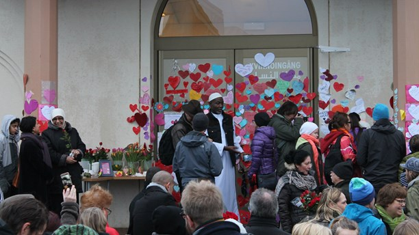 Suède  mobilisation contre l'islamophobe après l'attaque d'une troisième mosquée 8