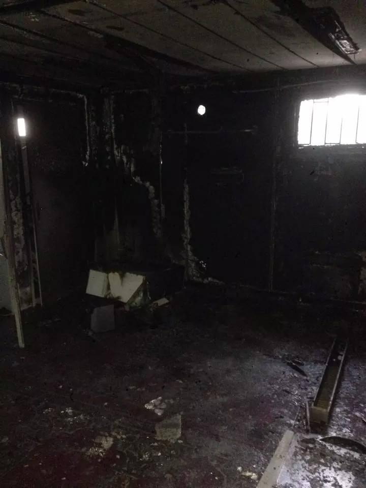 Une mosquée d'Aix-les-Bains incendiée 2