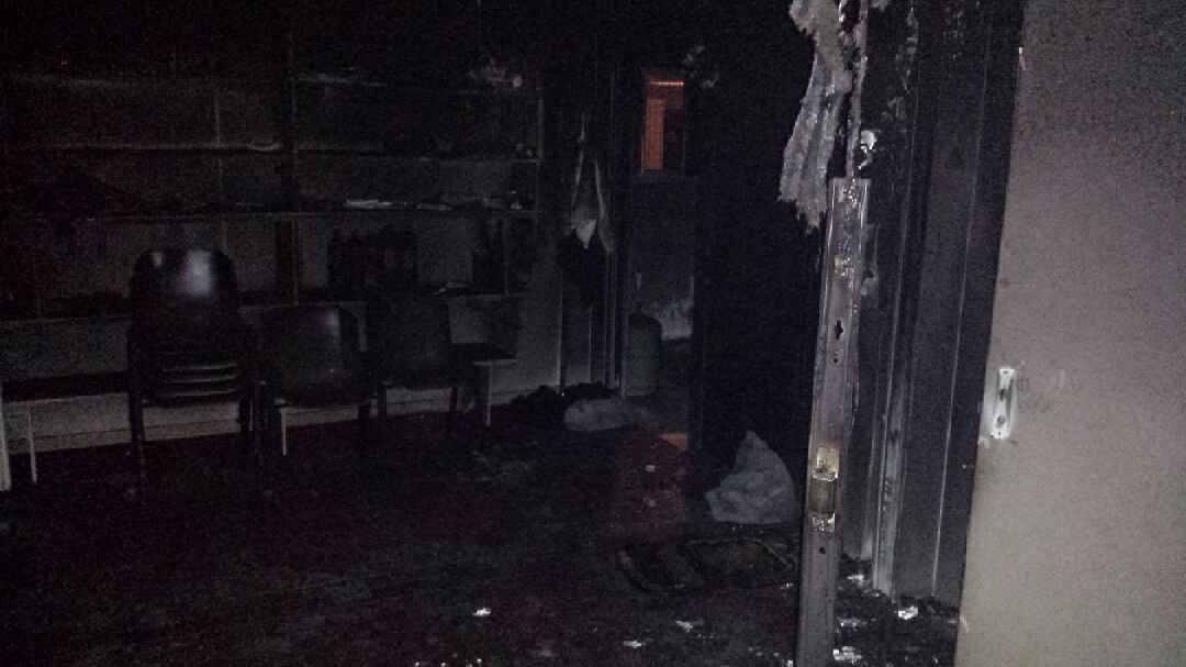Une mosquée d'Aix-les-Bains incendiée 6
